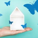 Locandina La Casa delle Farfalle Blu