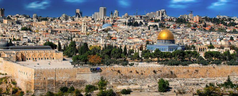 Paesaggio di Gerusalemme