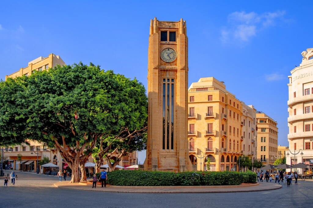 Torre dell'orologio Rolex a Beirut